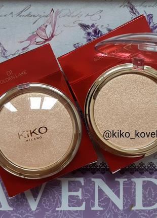 Хайлайтер kiko milano magical holiday sparkle highlighter! уни...