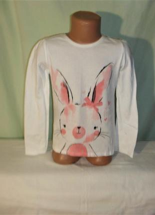 Реглан, лонгслив, футболка с длинным рукавом на 6-7лет