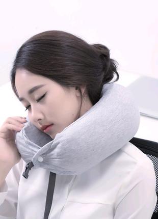 Подушка ортопедическая для шеи спины в дорогу Xiaomi 8H Pillow U1