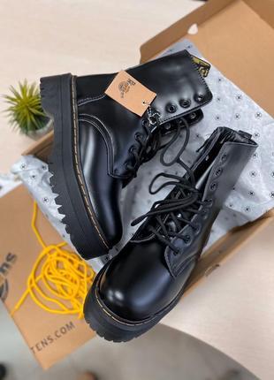 ❄️  ботинки зимние натуральные dr. martens high fur кожа овчина