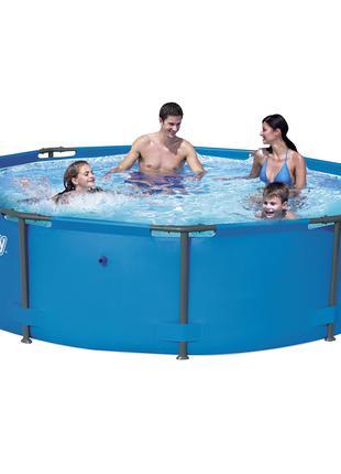 Каркасный бассейн Bestway 56406, 305 х 76 см (подстаканники 2 ...