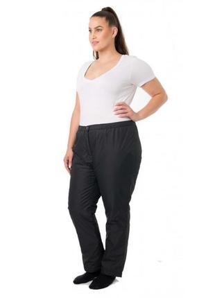 Тёплые зимние брюки штаны большого размера батал ❄️☃️