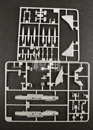 Конструктор Самолет 80411 USSR MIG-23 1:144 Сборная модель