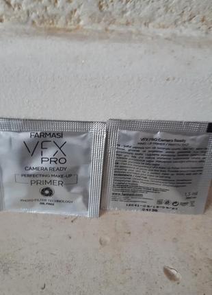 Сашет прозрачная праймер основа под макияж vfx pro camera read...