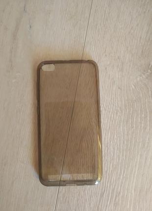 Силиконовый затемненный чехол Xiaomi Redmi 5a