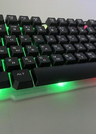 Клавиатура Русская + Мышка KEYBOARD KT-288 , комплект клавиату...