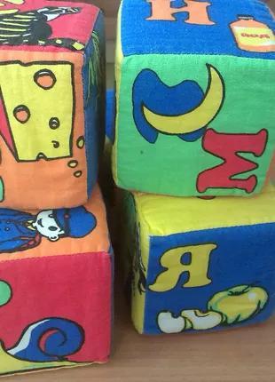 Мягкие кубики алфавитние (украинский)