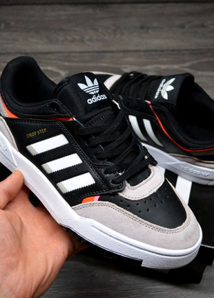 Adidas Drop Step Low Black