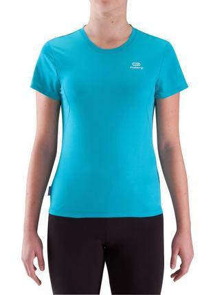 Классная брендовая спортивная легкая  футболка kalenji.