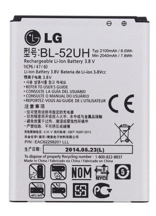 Аккумулятор батарея LG BL-52UH, D280, D285, D320, D321, D325, ...
