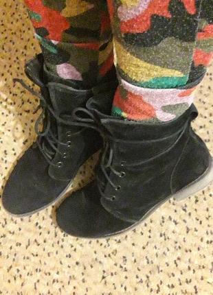 Ботинки демисезон на шнурках