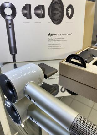 Фен Dyson HD03 Supersonic (White-Silver) Дайсон