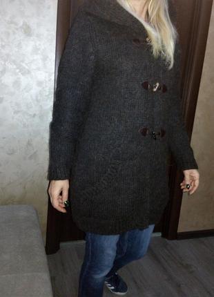 Австрия northland кардиган-пальто из качественной толстой тепл...