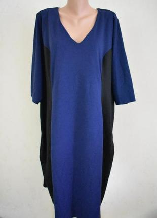 Красивое теплое платье большого размера