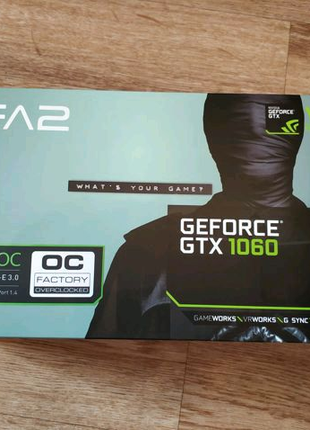 Видеокарта KFA2 GeForce GTX 1060 EX OC 3 GB