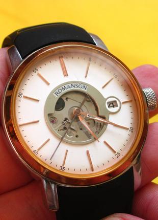 Механические наручные часы ROMANSON TL8222RM. Оригинал.