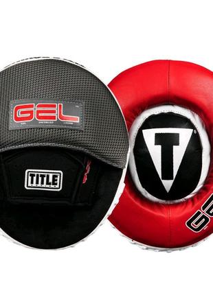 Боксерські лапи: TITLE GEL Assault Target Mitts