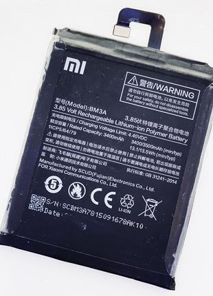 Аккумуляторная батарея (АКБ) для Xiaomi BM3A Mi Note 3 3300 mAh,