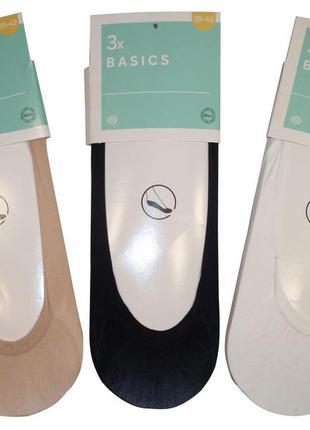 Набор следов 3 пары подследники капроновые следы женские бренд...
