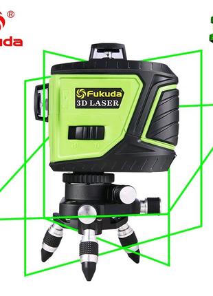 ОТКАЛИБРОВАН!!! FUKUDA 3D MW93t-2-3GJ лазерный уровень , нивелир