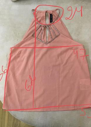 Блуза майка нарядна bdsm even&odd