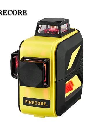 ОТКАЛИБРОВАН!!! FIRECORE F93T-XR 3D красный лазерный уровень