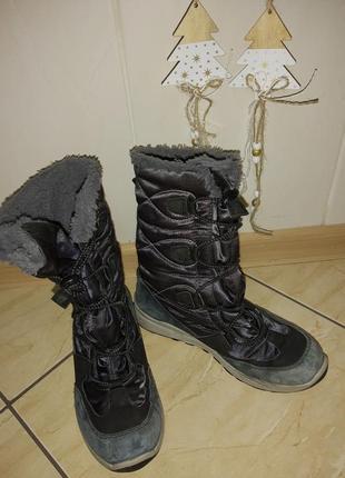 Зимние ботинки сапоги для девочки