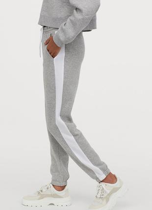 Новые спортивные штаны тёплые H&M