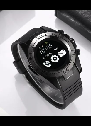 Смарт-часы UWatch SW007 Black ZDX