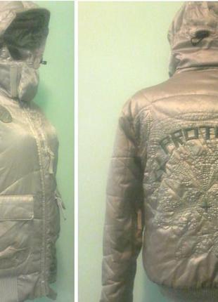 Зимняя мужск.куртка protest, многофункционал, р.xs см.замеры
