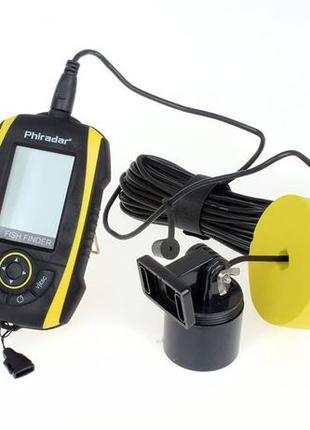 Эхолот Phiradar FF268A, Проводной, Оригинал, Бесплатная доставка