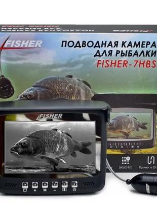 Подводная камера Fisher CR110-7HBS, 15 м, Бесплатная доставка,...