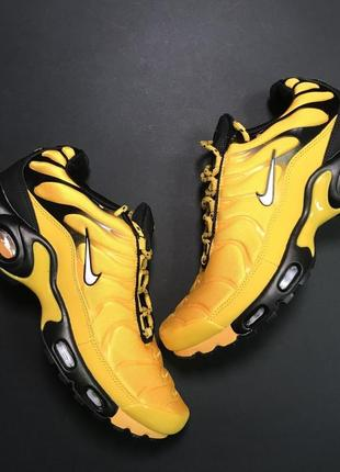 Кроссовки: nike air max tn yellow black