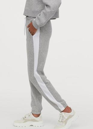 Новые спортивные штаны тёплые h&m.