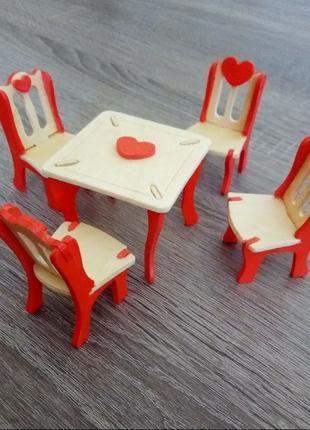 Кукольная мебель.