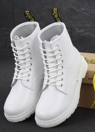 👢 женские ботинки dr. martens 1460 mono демисезон (арт. 11977) 👢