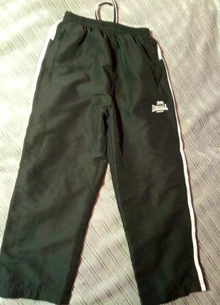 Спортивные штаны, оригинал. lonsdale. 7-8лет.