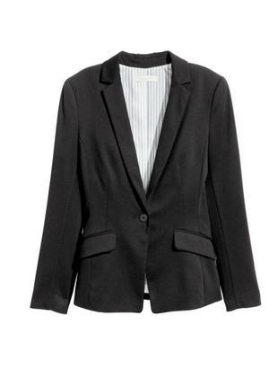 Трикотажный пиджак xs