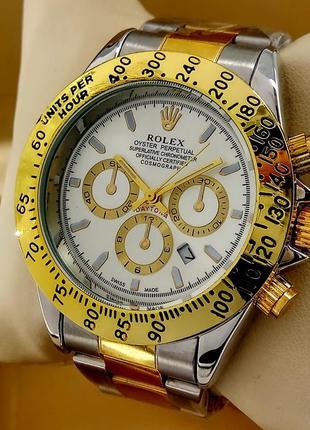 Кварцевые наручные часы Rolex Daytona на металлическом браслете