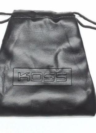 Чехол мешочек для наушников KOSS Porta Pro и не только. Футляр
