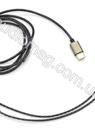 Type-C Провод для наушников аудиокабель Тайп Си с микрофоном Г...
