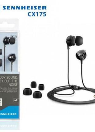 Наушники Sennheiser CX 175 вакуумные затычки CX175 навушники