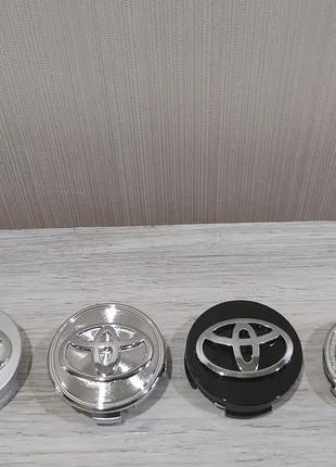 Колпачки на диски Toyota Camry Venza Yaris Auris Highlander Solar