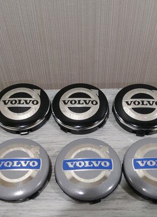 Колпачки на диски Volvo S40 S60 S70 S80 S90 V40 V50 V60 V70 XC60