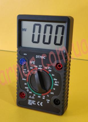 Мультиметр (тестер) DT700C цифровой