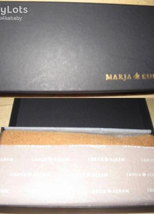 Стильний бежевий шарф marja kurki 100%шерсть новий бірки