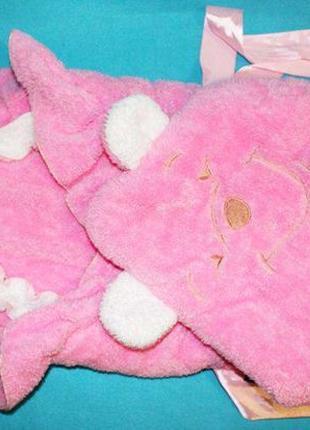 Конверты - одеяло разные на выписку для девочки - Мишка