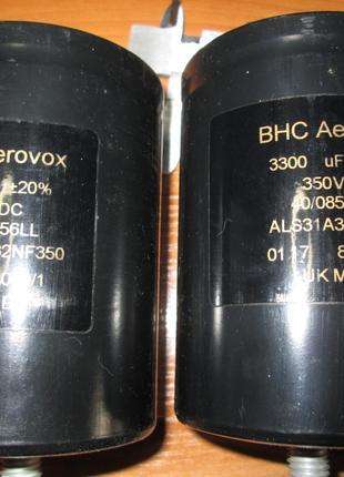 Конденсаторы BHC AEROVOX 3300uF 350V