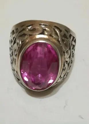 Серебряное кольцо времён СССР