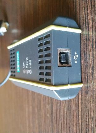 Siemens S7-300 GK1571-0BA00-0AA0 MPI + ПК-адаптер-USB     б/у